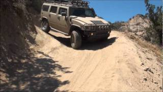 HUMMER 4x4 OFFROAD Hungry Valley run 4