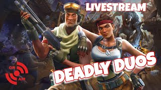 Fortnite | Battle Pass - Deadly Duos | Livestream
