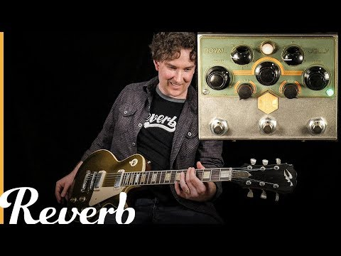Beetronics Royal Jelly Overdrive/Fuzz Blender | Reverb Tone Report