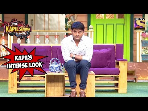 Kapil's Intense Look - The Kapil Sharma Show