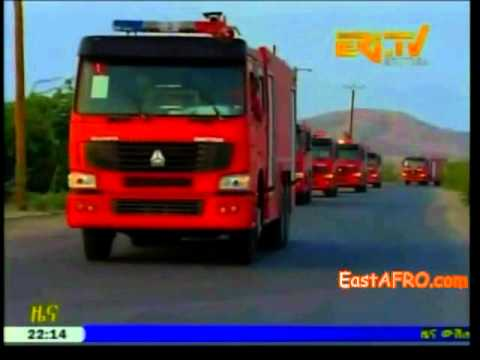 Eritrea New Heavy machineries imported.