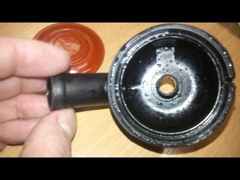 Клапан вентиляции картера разобранный