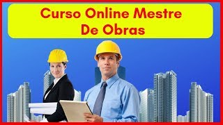 Curso Online Mestre de Obras Express | Curso de Mestre de Obras Senai | Gerente e Mestre de Obras