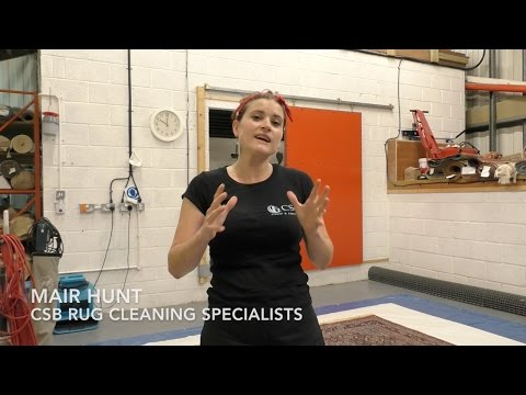 Professional Oriental Rug Cleaning By CSB Rug Cleaning In Cardiff