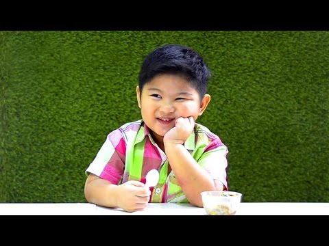 Kids Try Healthy Food