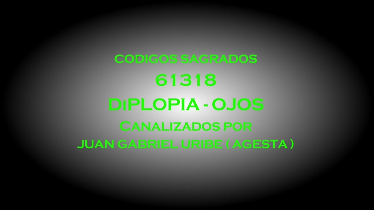 Download 61318   DIPLOPIA   OJOS   CODIGOS SAGRADOS DE AGESTA