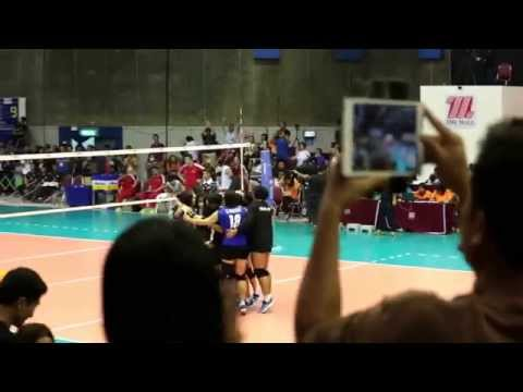 ไทยชนะจีน สูสี 3-2 เซต วอลเลย์บอลหญิงชิงแชมป์เอเชีย อายุไม่เกิน 17 ปี