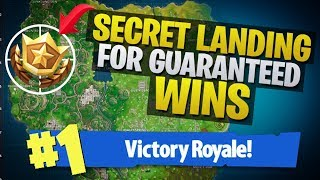 HOW TO WIN |  Where To Land For Guaranteed Wins (Fortnite Battle Royale)