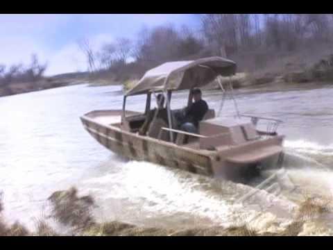 K5™ Polyurea - Phantom Jet Boat Hull Protection - YouTube