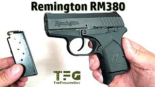Remington RM380 Review, Shooting, Disassemble - TheFireArmGuy