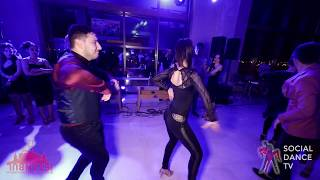 Ali Kaan & Melisa Sahra Katılmış - Salsa Social Dancing | Istanbul Int. Dance Festival 2019