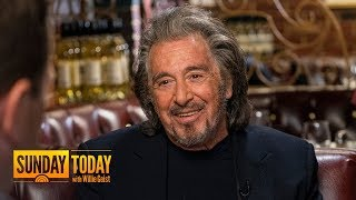 'Hunters' Star Al Pacino Talks Legendary Career In Hollywood | TODAY