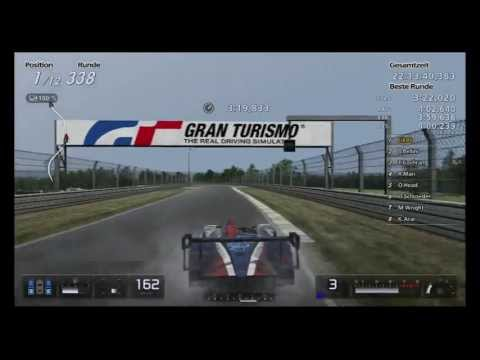 Lets Play Gran Turismo 5 / 24h Le Mans - Part 36 / Rennstunde 22 - Ist Grid 2 zu Arcade ?
