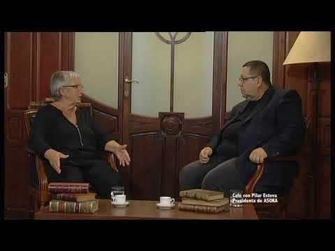 Cafe con Pilar Esteva Presidenta de ASOKA