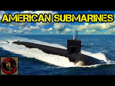 What Does The U.S. Navy Submarine Fleet Comprise Of?