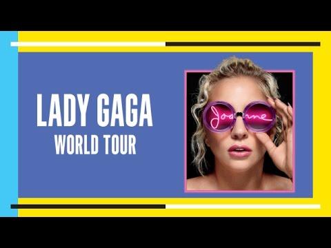 Lady Gaga's Joanne World Tour Promo