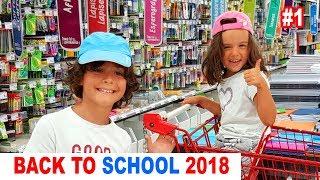NOS FOURNITURES SCOLAIRES de la rentrée #1 - BACK TO SCHOOL 2018 - LA FAMILLE DÉMO JOUETS