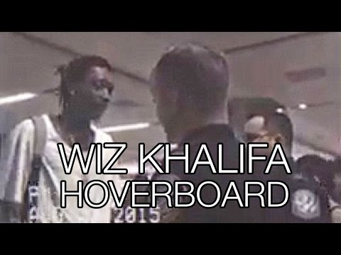 Wiz Khalifa Arrested at Airport Hoverboard: Police Brutality, Segway Electric Monorover, LAX
