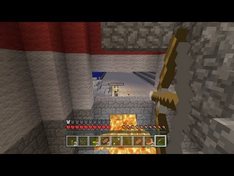 Minecraft Xbox - Broken Home Tree - Hunger Games