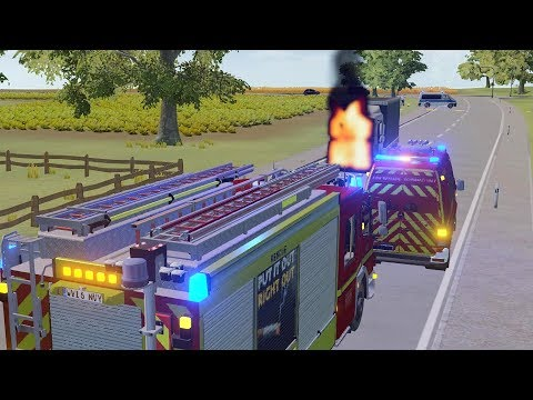 Emergency Call 112 – London Fire Brigade Gameplay! 4K