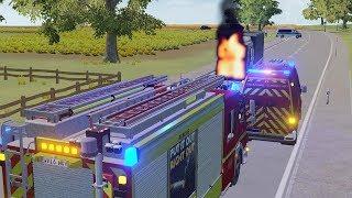 Emergency Call 112 – London Fire Brigade Gameplay! 4K