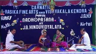 Karunarasa jaladhe by Sarojini Sundaresan