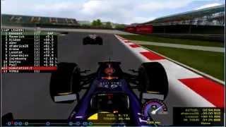 [UGO F1 2014] 3. Grand Prix de Turquie - Course