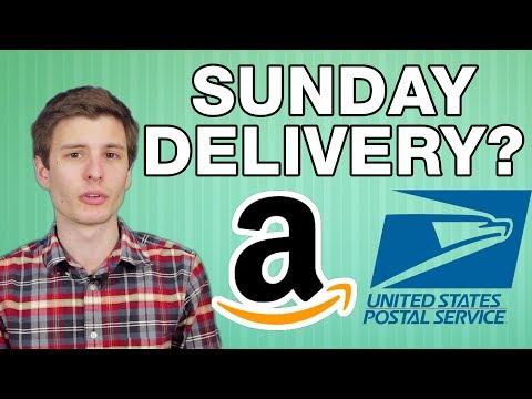 Amazon Sunday Delivery!? - ThioJoeTech
