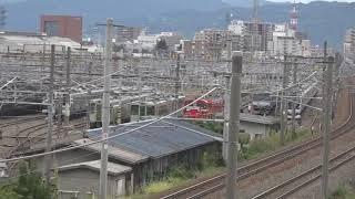 遂に長野入りをした相鉄10000系、役目を終え所属先へ戻るEH200、長野総合車両センター。