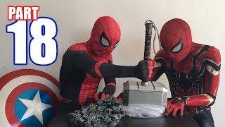 Spiderman Bros UNBOXING REALIFE SIZE THOR MJOLNIR!!
