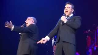 Robbie Williams - Do Nothin' Till You Hear From Me  (FRONT ROW) - 22-Sept-14 Brisbane HD