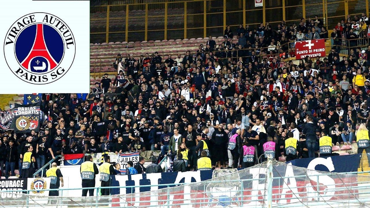 Napoli Vs Psg Ambiance Du Cup Ultra Psg
