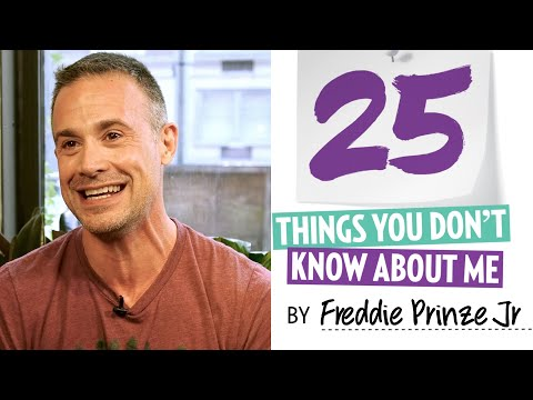 25 Things You Don't Know About Freddie Prinze Jr
