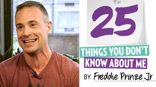 25 things you dont know about freddie prinze jr