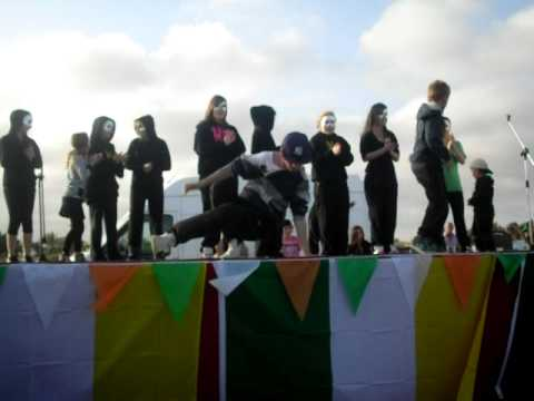 kingsbury academy of dance st patricks day run the show