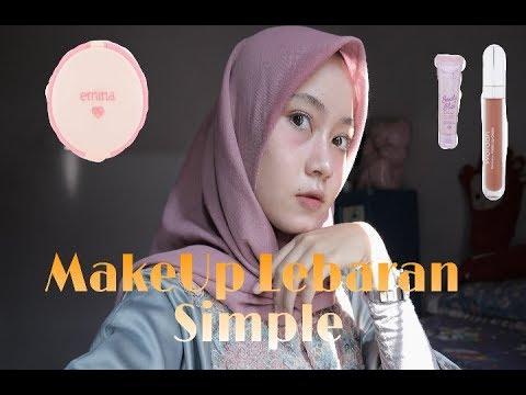 Tutorial MakeUp Lebaran Simple!!