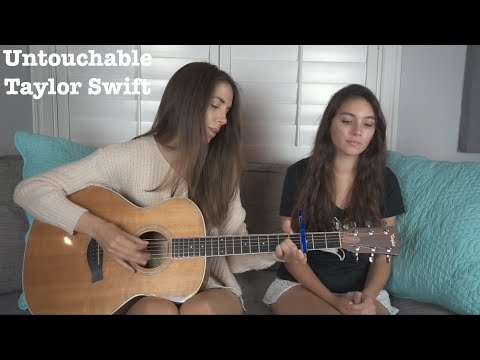 Untouchable - Taylor Swift Acoustic Cover WITH GUITAR GODDESS