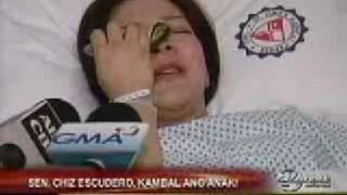 Sen Chiz Escudero's wife bears twins