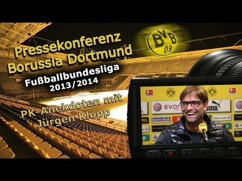 Neue BVB PK-Anekdoten mit Jürgen Klopp aus der Saison 2013/2014