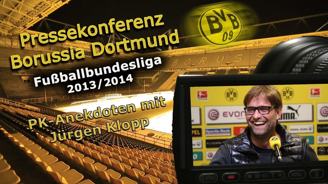 Pressekonferenz Anekdoten mit Jürgen Klopp aus der Saison 2013/2014 Best Of