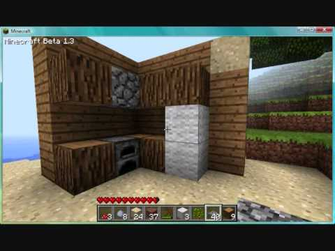 How to make furniture in minecraft - YouTube