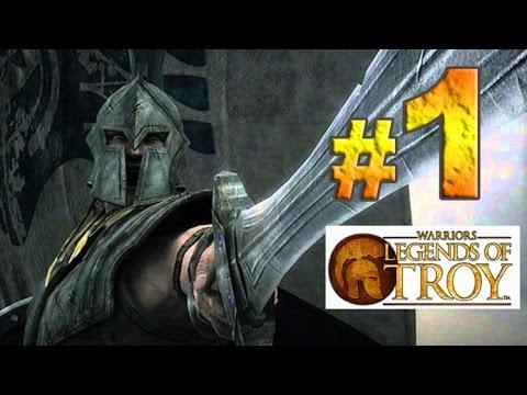 Warriors: Legends of Troy  Desembarco  En Difícil y en español  Parte 1