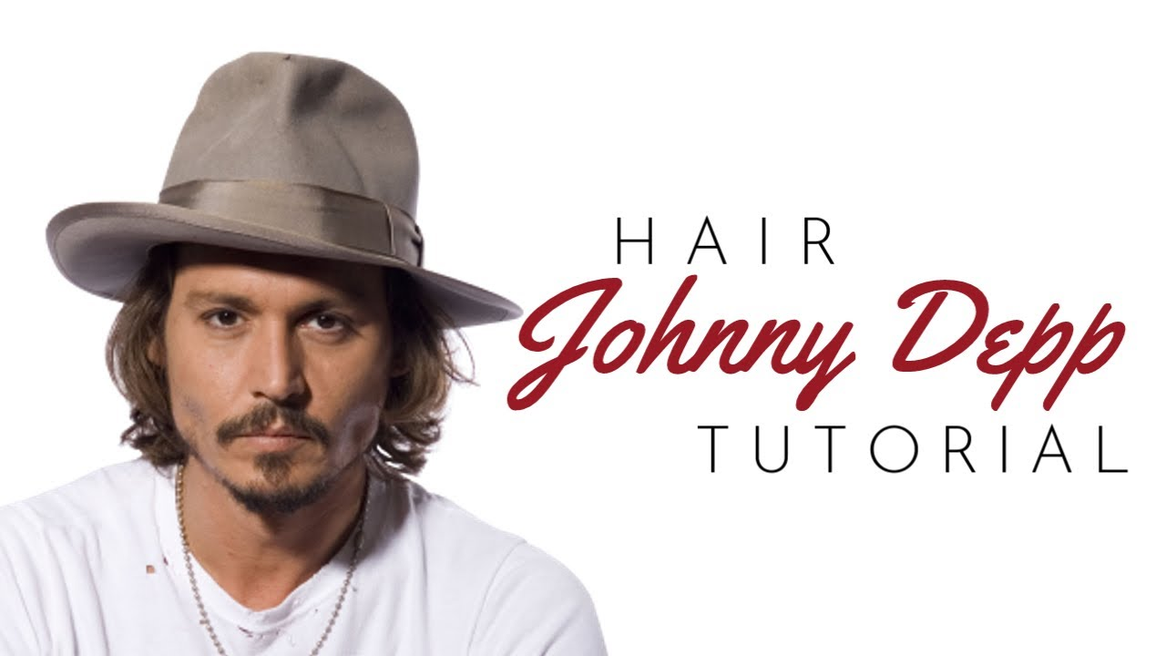 Johnny Depp Haircut Tutorial Thesalonguy Youtube