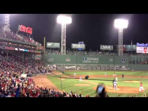 6/18/13  Red Sox Jonny Gomes walk off home run