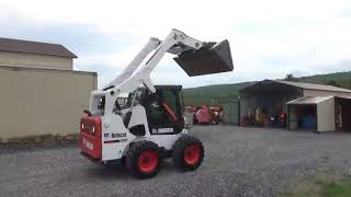 Bobcat Skid Steer Loader video, Bobcat Skid Steer Loader