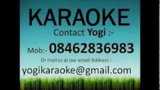 Abhi na jao chhod kar karaoke track