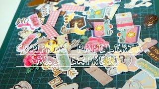 Compras papelería bonita Aliexpress | Orden, papel y tijera