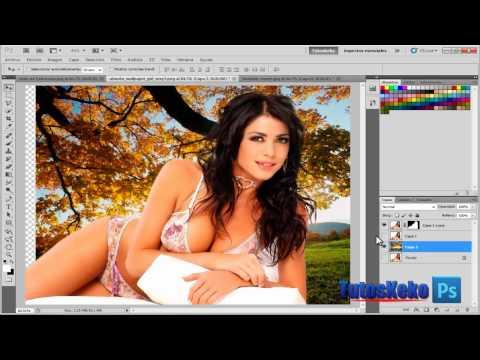 Tutorial photoshop cs5, eliminar fondos difíciles, herramienta ...