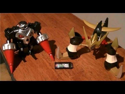Digimon Xros Figure Series 07 SkullKnightmon & DeadlyAxemon Set Review