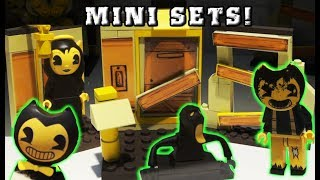 Bendy and the Ink Machine Mini Playsets EXCLUSIVE! LEGO Sets Mcfarlane Blind Bag Toy Fair 2018